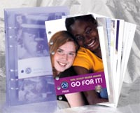 NEW! Girl Scout Silver Award: Go For It